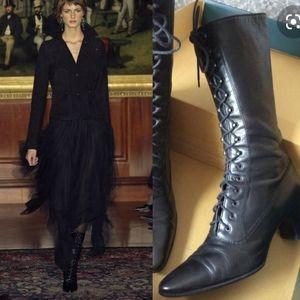 Vintage Ralph Lauren Collection Victorian Boots